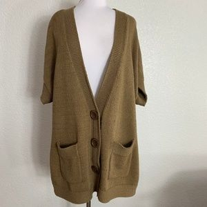 Coldwater Creek Cardigan 2X Button Front
